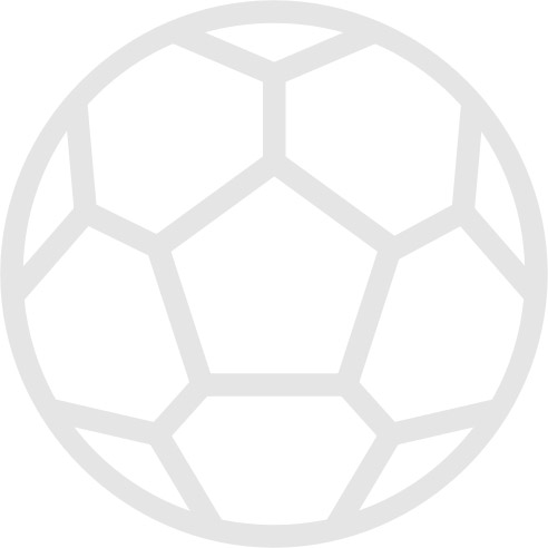 Manchester United v Lazio official colour teamsheet 27/08/1999 Super Cup