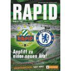 Rapid Vienna v Chelsea Football Programme 2016