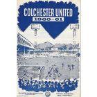 Colchester United FC V Bury FC Football Progamme 26/09/1960