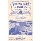 Queen's Park Rangers v Southampton Football Programme in mint condition from the match played on the 7th September 1953.