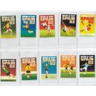 World Cup 1982 - Complete Set of Mint Condition Match Box Labels