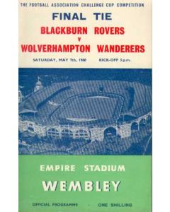 1960 FA Cup Final Programme, reduced price