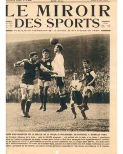 1923 Le Miroir Des Sports - Original French Magazine with 23 photos 03/05/1923