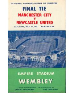1955 FA Cup Final Programme