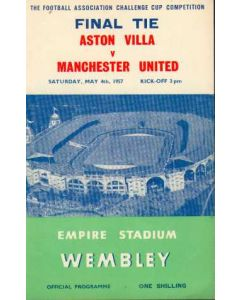 1957 FA Cup Final Programme