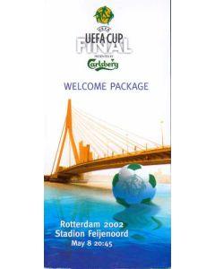 2002 UEFA Cup Final VIP Welcome Package Borussia Dortmund v Feyenoord