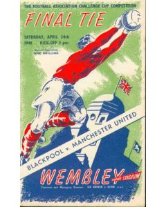 1948 FA Cup Final Prrogramme