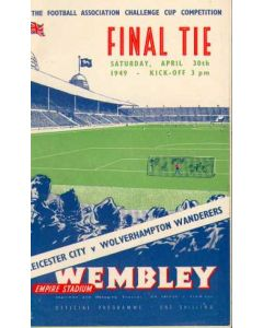 1949 FA Cup Final Programme
