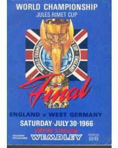 1966 World Cup Final Programme