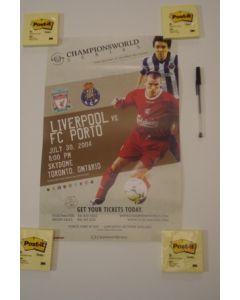 In the USA - Liverpool v Porto Championsworld poster 30/07/2004