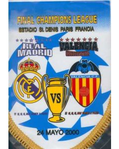 2000 Champions League Final Pennant