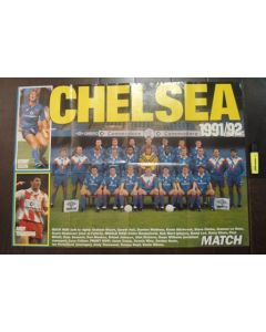 Chelsea FC on one side and Nottingham Forest on the other side large poster