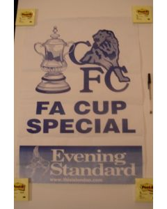Evening Standard F.A. Cup Special poster