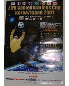 2001 Korean Confederation Cup Poster