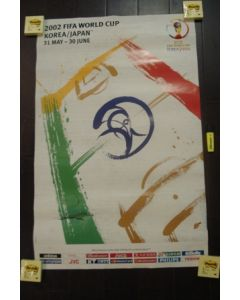 2002 World Cup Official Poster, reduced price