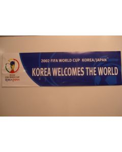 2002 World Cup very long sticker