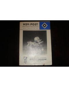 1960 Hamburg v Young Boys official programme 27/11/1960