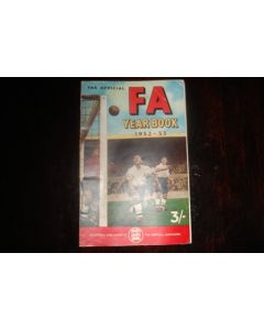 1952-1953 The Official FA Year Book