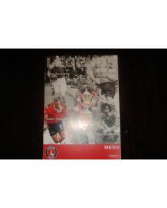 Charlton Athletic v Chelsea menu 24/02/2007