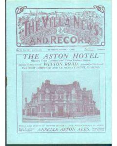 Aston Villa V Sunderland 1927