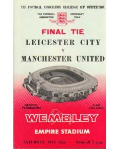 1963 FA Cup Final Programme, reduced price