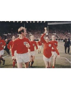 1966 World Cup Final modern reproduction colour photograph
