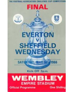 1966 FA Cup Final Programme