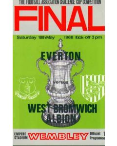 1968 FA Cup Final Programme