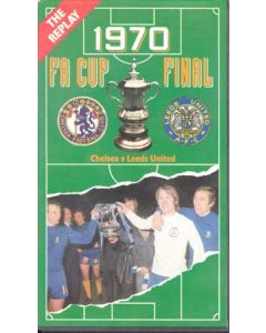 1970 FA Cup Final Chelsea v Leeds United Video Tape Cassette - The Replay!