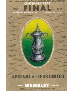 1972 FA Cup Final Programme