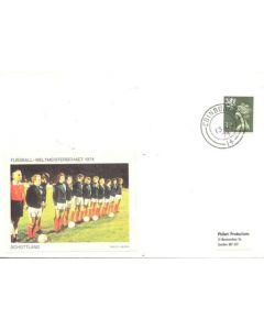 1974 World Cup Scotland First Day Cover
