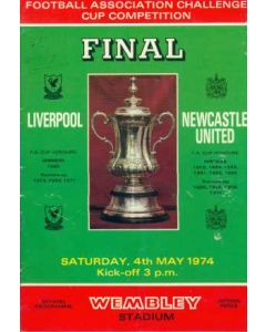 1974 FA Cup Final Programme