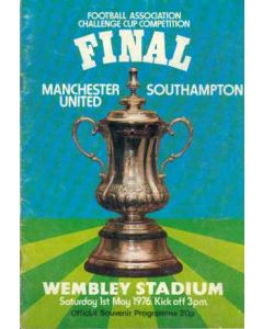 1976 FA Cup Final Programme