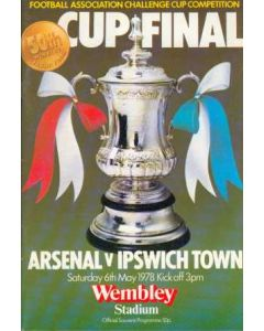 1978 FA Cup Final Programme