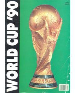 1990 World Cup English brochure