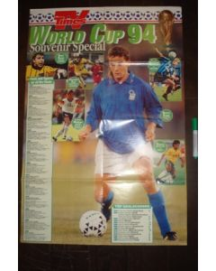 1994 World Cup The TV Times Poster