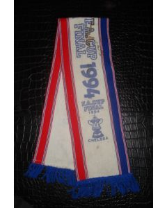Chelsea scarf 1994 FA Cup Final