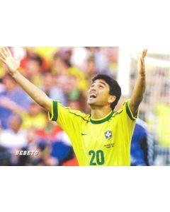1998 World Cup in France Bebeto postcard