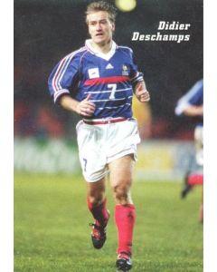 1998 World Cup in France Didier Deschamps postcard
