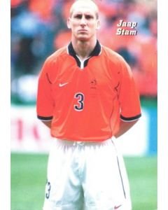 1998 World Cup in France - Jaap Stam postcard