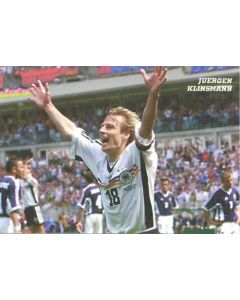 1998 World Cup in France Jurgen Klinsmann postcard