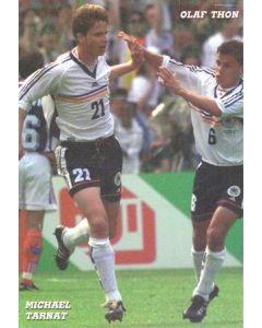 1998 World Cup in France Michael Tarnat & Olaf Thonpostcard postcard