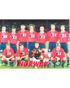 1998 World Cup in France - Norway Team postcard