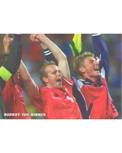 1998 World Cup in France Norway The Winner postcard