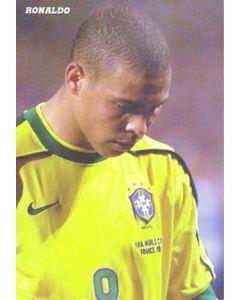 1998 World Cup in France Ronaldo postcard