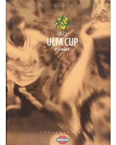 1999 UEFA Cup Final Parma v Olympique de Marseille official press pack 12/05/1999