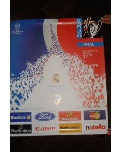 2000 Champions League Final Poster