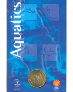 2000 Olympics in Sydney medal Aquatics