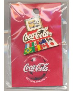 2001 Confederations Cup Coca Cola badge
