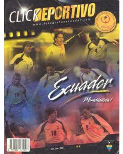 2002 World Cup Official Ecuador Media Guide.